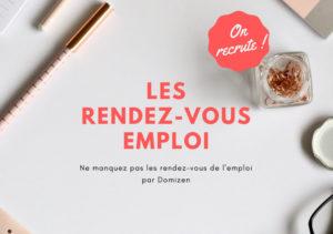 Image de Domizen dans le Courrier de l'Ouest : <br /> Réunion pour l'emploi à la mairie de Trélazé.